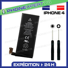 BATTERIE IPHONE  4 + 2 TOURNEVIS (CRUCIFORME + PENTALOBE)
