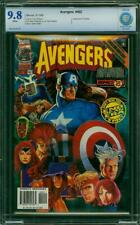 AVENGERS 402 CBCS 9.8 Captain America Deodato Waid 1996 CGC