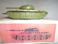 Vintage Russian USSR Diecast military vehicles, tank T-54