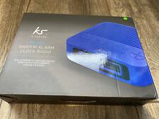 KitSound Revive DAB/FM Radio and Alarm Clock - Blue