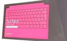 Microsoft Cover Tastiera Nero x Surface Pro Pro1epro2 usata Retroilluminata