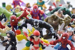 Marvel SUPER HERO SQUAD Figures Selection Iron Man Spider-man Capt. America