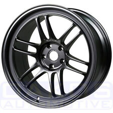 "Enkei RPF1 Wheel 18x9.5"" 15mm 5x114.3 Gunmetal Individual Rim for EVO 350Z"