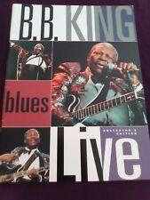 BB King Concert Program Book