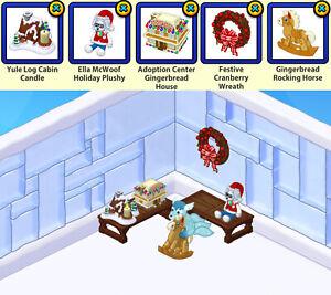 2015 & 2016 Webkinz [!!!CHOOSE 3!!!] Christmas Countdown Holiday Gifts