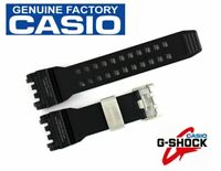 Casio G-Shock Genuine Replacement Black Band GPW-1000-1A Part 10477899, 10509503
