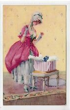 """MADEMOISELLE CHIC"": Glamour postcard after Cecil Jay (C13304)"