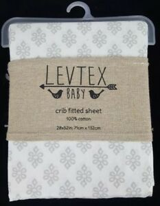 Levtex Baby Ely Crib Fitted Sheet