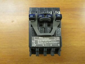 I-T-E CIRCUIT BREAKER TWO 2 POLE, 20-20 AMP, CAT# Q22020 ... TY-87
