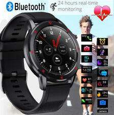 Bluetooth Smart watch Waterproof Blood Pressure Heart Rate Full Touch Fitness