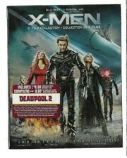 Brand New Sealed BLU-RAY + Digital HD - X-MEN 3 Film Collection - Also In French