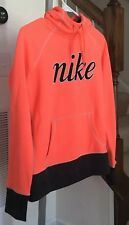 Nike Therma Fit Pull Over Hoodie Logo Girl's Outwear Sz S Euc