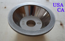 1 Pc 100mm Diamond Grinding Wheel Alloy Replacement For End Mill Grinder New Us