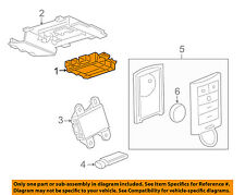 GM OEM Keyless Entry-Receiver for Key Fob Remote 20803736