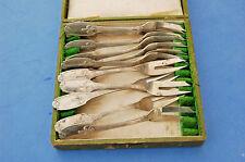 Service 12 fourchettes à huîtres - poissons - gateau