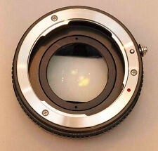 Zhongyi Lens Turbo II Focal Reducer Booster Adapter Pentax K PK to Sony E NEX