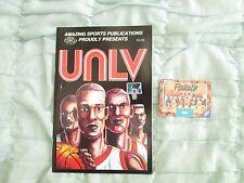 1990 UNLV  Basketball College Championship Commemorative Comic Book w/Card