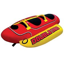 "Kwik Tek HD-2 Airhead""Double Dog"" Towable Water Weenie 2-Rider"