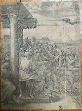 Gravure XVIe Marcantonio Raimondi Renaissance Incisione Engraving Radierung 16th