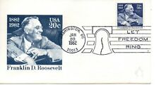 US FDC #1950 Roosevelt Unofficial, Andrews (8077)