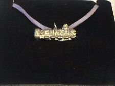 """Music TG287 English Pewter On 18"""" Purple Cord Necklace"""
