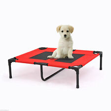 PawHut Elevated Pet Bed Cot Dog Camping Sleeper Outdoor Puppy w/ Center Support