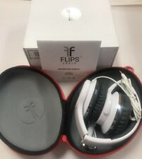 Flips Audio Collapsible HD Headphones and Stereo Speakers - White (FH2815WH5)