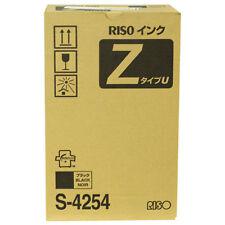 Risograph S-4254 Ez220/rz220/220ui/220u/390/mz790 Black Ink [2 Ctgs/ctn] (s4254)