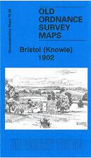OLD ORDNANCE SURVEY MAP BRISTOL KNOWLE 1902