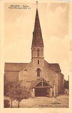 BF4454 beaume eglise saint nicolas france