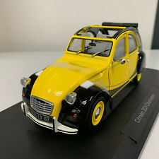 Norev Citroën 2CV Charleston 1982 Yellow / Black 1/18 181493 0320 12-25