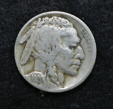"1920 ""S"" Buffalo Nickel Great Condition Very Old  F28"