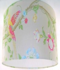 """25cm/10"""" Lampshade Handmade with Laura Ashley Summer Palace Linen Wallpaper"""