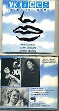 TIZIANA GHIGLIONI - PAOLO DAMIANI - LAUREN NEWTON - Voices LIVE IN ROME 1990
