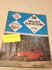 Revue Technique Expert Automobile SIMCA Chrysler Horizon  éd. 78