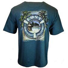 Lost In Paradise Men's T-shirt Relaxing Do Not Disturb Newport Blue M L XL XXL