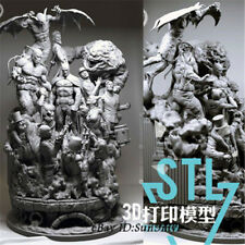 Unpainted Batman Sanity Resin Kits Model Statue GK Unassembled 30cm