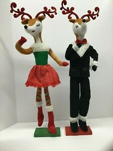 G! Poseable Plush Reindeer Decor