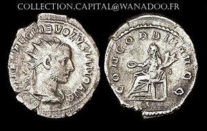 Antoninien Volusianus (Emp. 251-253 Ap. J.C.) CONCORDIA. Billon