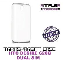 COVER TRASPARENTE HTC DESIRE 620G DUAL SIM CUSTODIA PROTEZIONE TRANSPARENT CASE