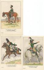 Cdt BUCQUOY - UNIFORMES 1er EMPIRE - Série 30 - la Cavalerie en Espagne