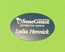 SeneGence DISTRIBUTOR  CONSULTANT NAME BADGE YOUR COLOR CHOICE PERSONALIZE