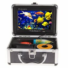 "7"" Pro. Fish Finder Underwater 30M Video Camera Color HD 1000 TV Monitor 12DVC"