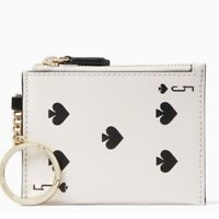 Kate Spade New York Card Coin Purse Playing Card Casino White NEW