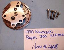 1990 Kawasaki Bayou KLF300B Oil Pump #268-1C-CUS