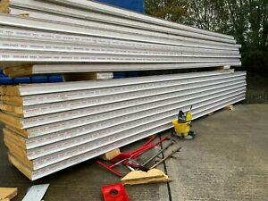 Used Good Quality PIR Insulated Cold Room Panels, various sizes & thicknesses