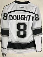 Reebok Women's Premier NHL Jersey Los Angeles Kings Doughty White sz S