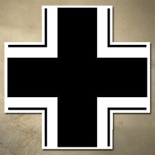 GERMAN BALKENKREUZ IRON CROSS STICKER / DECAL | ARMY | MILITARY | MULTIPLE SIZES