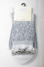 Falke ~ FASHION ~ socks BNWT light blue 81% cotton BNWT medium UK shoe 5.5-6.5