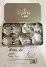 PAMPERED CHEF Creative Cookie Cutters Set Item # 1095  **FREE SHIPPING**